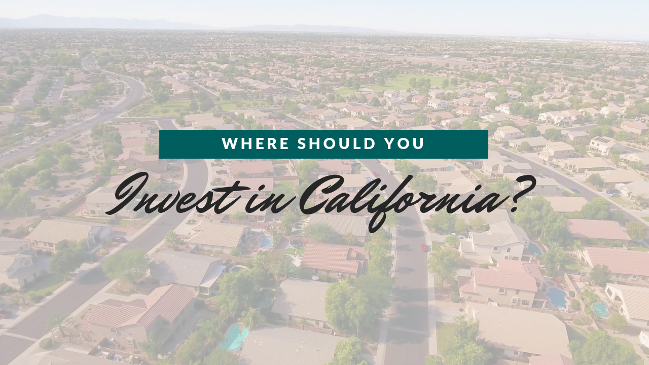 Where Should You Invest in Property Management in California?
